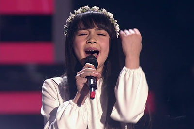 VIDEO: 11-Year-Old Russian Girl Shocked Judges On The Voice, Her Voice Is Something Special