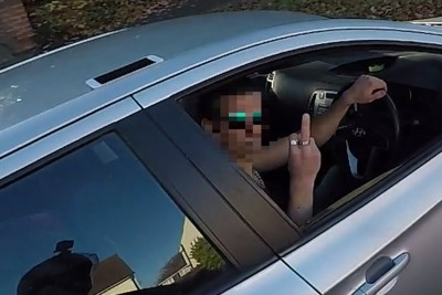 He Tried To Help Him, But Driver Flipped Him Off. Next Second He Immediately Regretted It!