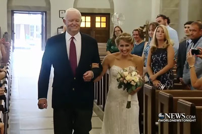 Bride's Dad Murdered Before Her Wedding, Guests Gasp Who Walks Her Down The Aisle