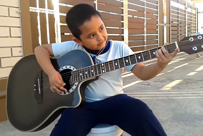 Watch This 7-Year-Old Nail Metallica's 'Nothing Else Matters' On Acoustic Guitar