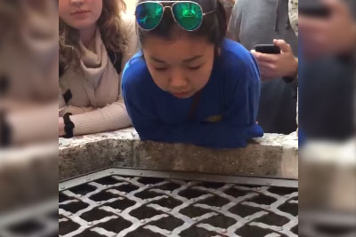 Girl Amazingly Sings Hallelujah Into A Well In Italy
