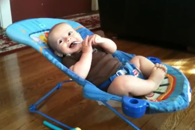 Is This The Most Vibrant Baby In The World? We Bet You Won't Stop Laughing At Him!