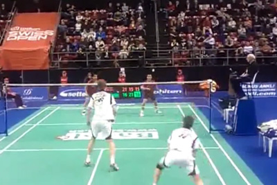 Awesome Badminton Match AT The Swiss Open