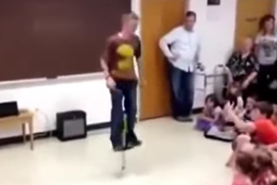Pogo Stick Fail