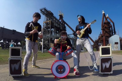 An Incredible Toy Instrument Cover Of The Rage Against The Machine Big Hit