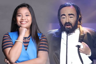 Young Girl Impersonates Luciano Pavarotti And Leaves Everyone In Awe