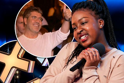 Simon Cowell Hits The Golden Buzzer On BGT To Send This 15 Year Old Girl To The Semi-Finals