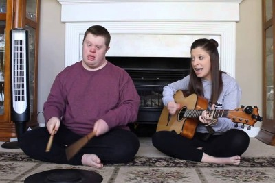 """Sister Starts Singing """"Jolene."""" But When Brother Joins In He Completely Steals The Show!"""