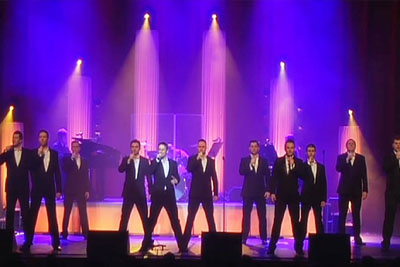 12 Men Line Up - Within Moments Their Song Choice Sends Chills Down Everyone's Spine