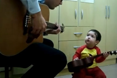 Father And 2-Year-Old Boy Sing Beatles' 'Don't Let Me Down' In Viral Video