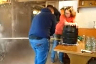 How To Tap A Keg If You Want The Beer To Shoot Out The Side And Make A Total Mess