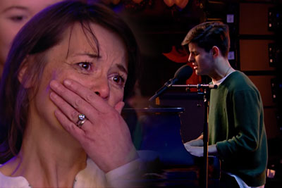Teenager Reuben Gray Moves His Parents To Tears With A Beautiful Britain's Got Talent Audition