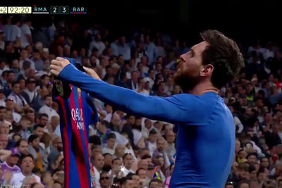 WATCH: Messi Scores A Match Winning Goal Against Real Madrid 5 Seconds Before End