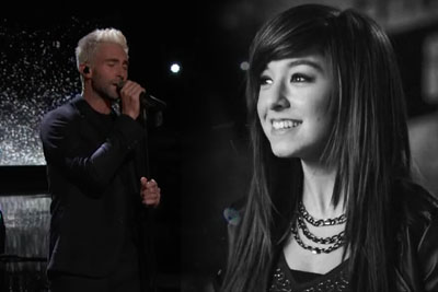 Adam Levine Performs A Moving Tribute To Christina Grimmie On The Voice