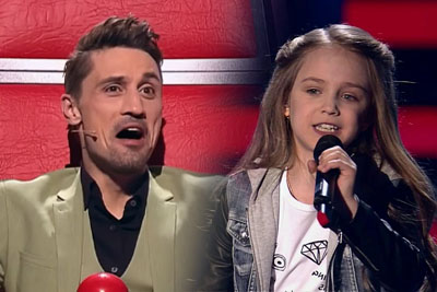 "Little Girl Maria Nails Her ""Demons"" Performance On The Voice Kids In Russia"