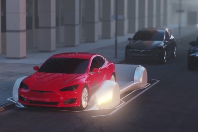 Elon Musk Reveals Concept Of Cars Speeding Through Tunnels On Mobile Platforms
