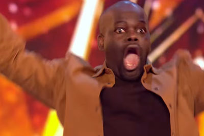 Amanda Hits Her Britain's Got Talent Golden Buzzer For Hilarious Stand Up Comic Daliso Chaponda