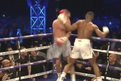 VIDEO: Anthony Joshua Has Defeated Wladimir Klitschko With A Knockout
