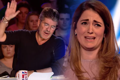 Simon Cowell Interrupts Nervous Sian Pattison's Audition, Then She Nails It With Second Song