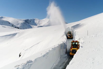 This Is Probably The Best Snow-Blowing Video You'll Ever Watch