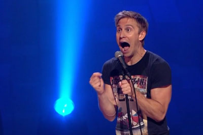 Comedian Russell Howard Tells A Hilarious Yet Heartwarming Story About A Young Cancer Patient