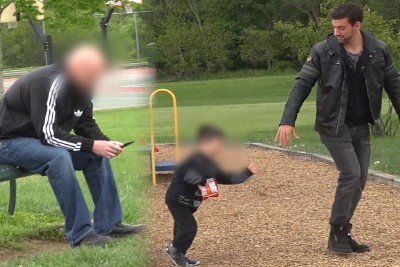 Every Parent Should See This Abducting Child Experiment In Front Of Dad
