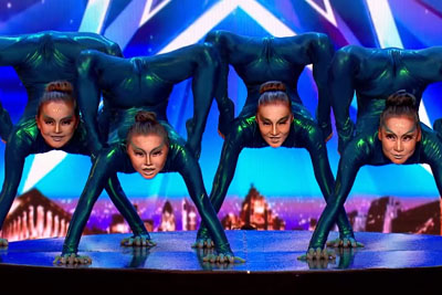 Four Girls Shock The Judges At Britain's Got Talent With Their Unexpected Flexible Skills