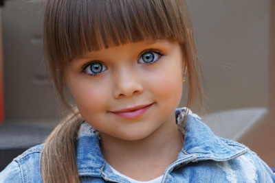Is This Most Beautiful Little Girl In The Whole World?