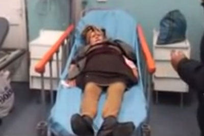 WATCH: Old Woman In Romania Gets Hospitalized After A Nightmare Suffering From This Syndrome