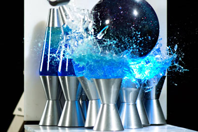 Bowling Ball Destroying Things Looks Really Incredible In Slow Motion