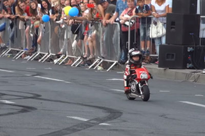 Meet A 4-Year-Old Baby Biker Who Has Insane Motorcycle Skills