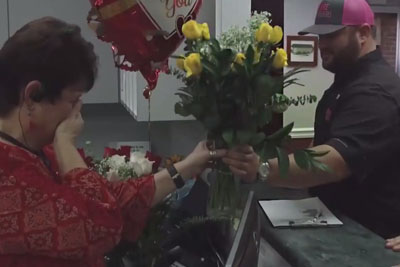 Boys Surprise Their Mom With Special Gift On Valentine's Day, Tears Were Streaming Down Her Face