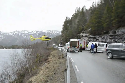 This Is How Norwegian Air Ambulance Do Their Landings