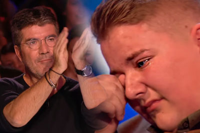 Singer Kyle Tomlinson Earns David Walliams's Golden Buzzer On Britain's Got Talent After Rejecting Him