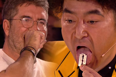 Japanese Magician Was Swallowing Razorblades On BGT, At The End He Shocked Everyone