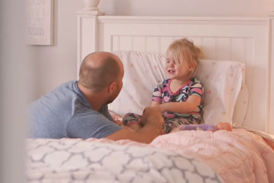 Mom Has Stressful Day At Home With The Kids, Then Toddler Shares With Dad The Real Story