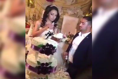 Groom Shows He's A Pompous Jerk When Getting Married