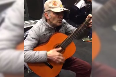 Old Man Plays The Theme For 'The Good The Bad And The Ugly' In Best Way Possible