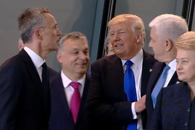 Arrogant Trump Shoves Aside Montenegro Prime Minister