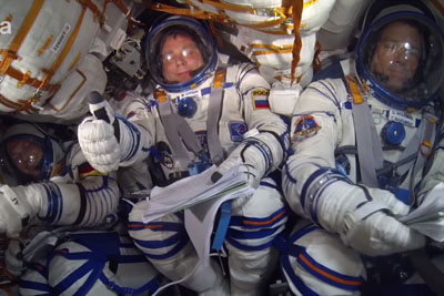 This Is How Ride Into Space Looks Like Inside The Astronaut's Cabine