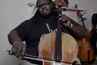Cello Guy Plays Inception Theme Song, His Playing Will Blow You Away