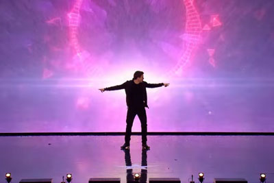 David Geaney Mixes Dance And Technology In Unique Audition On Britain's Got Talent