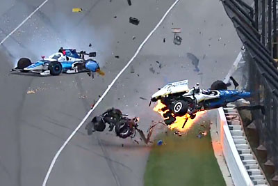 It's A Miracle Both Drivers Walked Away From This Terrifying Crash At The Indy 500