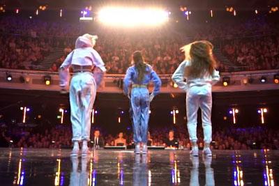 Three Girls Crack The Judges With Their Dance Routine On Britain's Got Talent