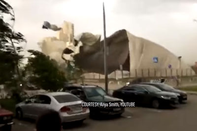 VIDEO: The Worst Storm In Last 100 Years Hits Moscow, At Least 12 People Died