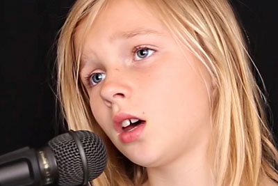 11-Year-Old's Haunting Rendition Of 'Sound Of Silence' Is Leaving The Internet In Chills