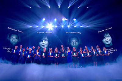 Everyone Was In Tears As Missing People Choir Sang In Front Of Images Of Missing Loved Ones