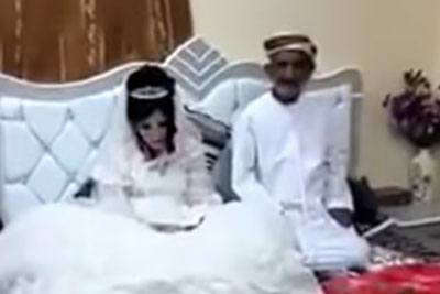 DISGUSTING: 80-Year-Old Muslim Marries 12-Year-Old Girl. What World Are We Living In?