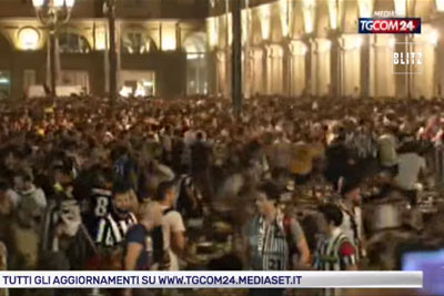VIDEO: 1000 Injured In Juventus Fan Panic After Bomb Scare In Torino