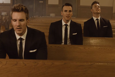 3 Men Walk In An Empty Church, Cover Beatles Classic That Sending Chills Down Everyone's Spine
